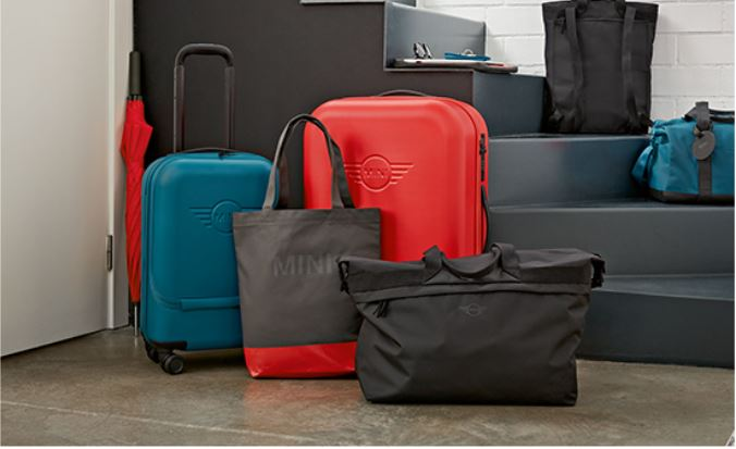 HIT THE ROAD IN STYLE. TRAVEL SMARTER WITH THE MINI TRAVEL RANGE